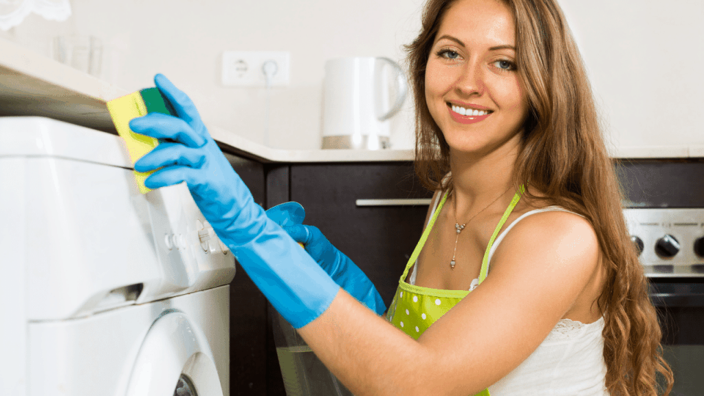 How to clean a washing machine soap drawer