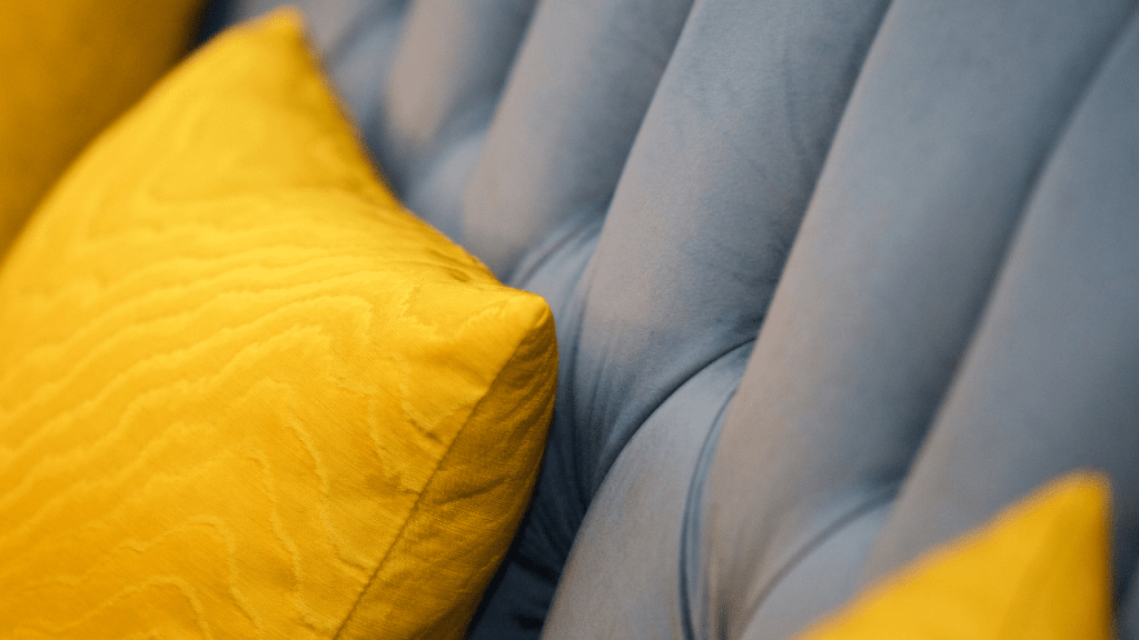 Pops of Yellow Cushions