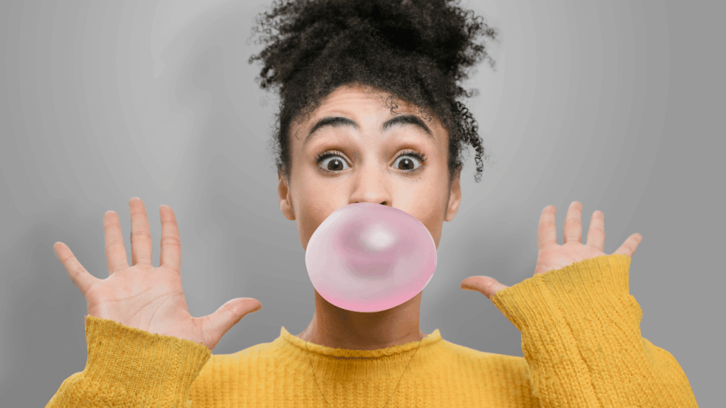How to Blow a Bubble Gum