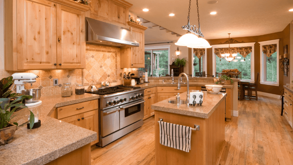 How to remove grease stains from wood cabinets