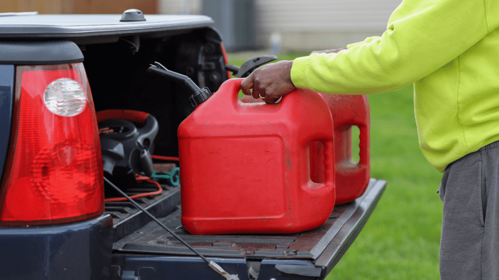 How To Clean A Plastic Gas Can