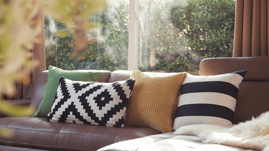 How To Stop Cushions Slipping On Leather Sofas