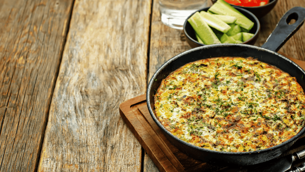 What Is A Chicken Frittata