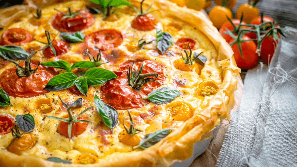 What goes with Quiche