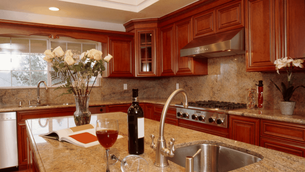What Paint Colour Goes With New Venetian Gold Granite?